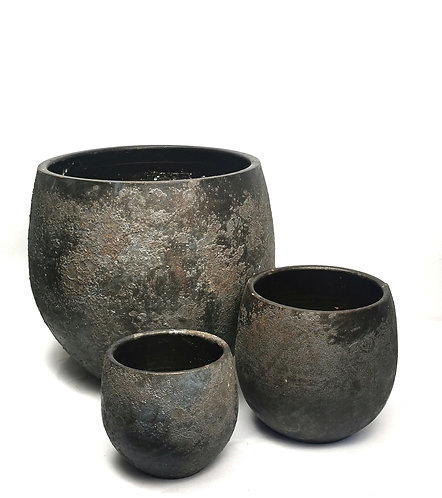 Dark brown pot