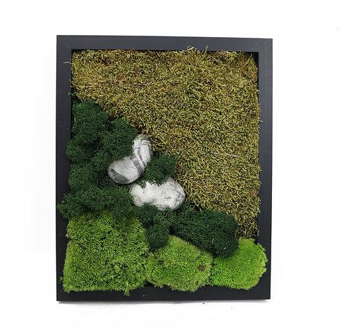 Moss frame black
