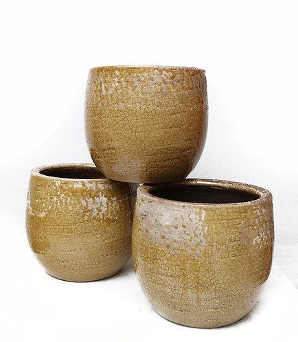 Yellow Ceramic 14cm