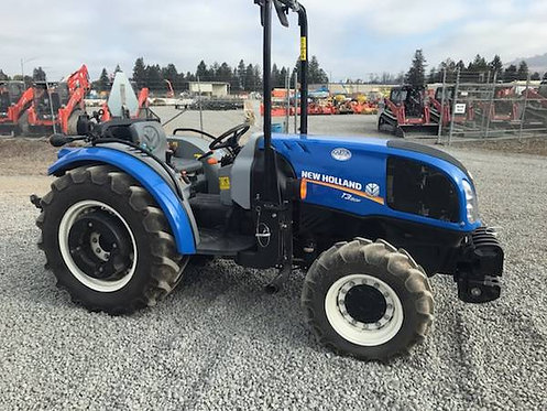New Holland T3.80F  4X4 ROPS Narrow Tractor
