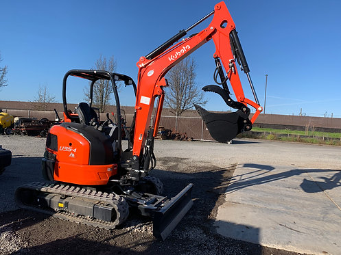 New Kubota U35-4R1A Excavator