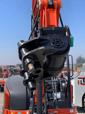 New Werk Brau Helac Power Tilt, Kubota U55/KX057