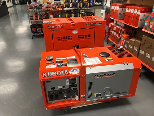 New Kubota Diesel Generators, GL7000