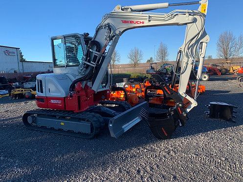 Takeuchi TB257FRC Compact Excavator