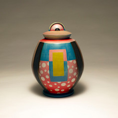 Capped Jar (alternate view)