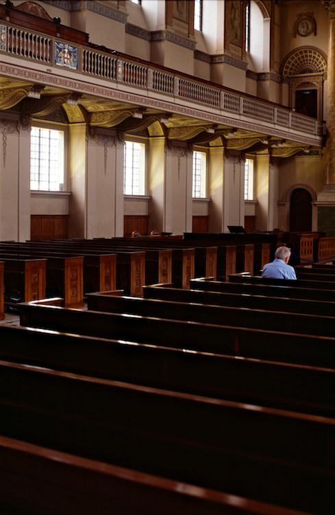 Alone in Church