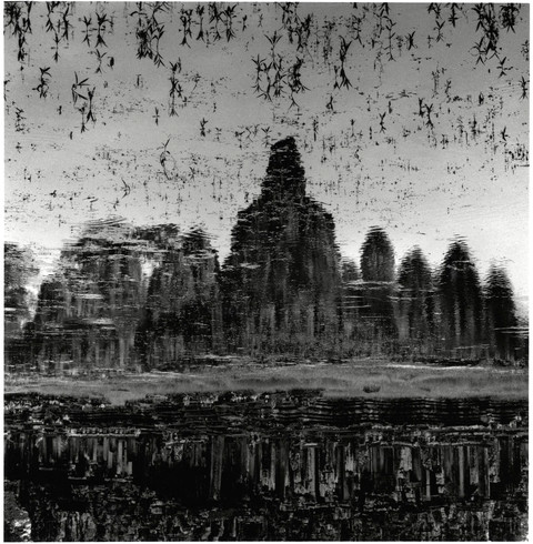 Reflections of Bayon Temple