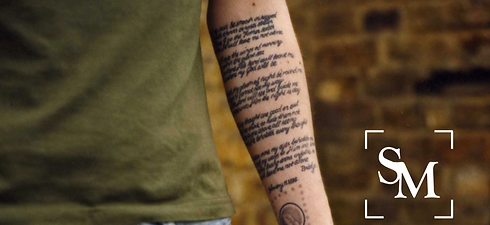Simon Montgomery blind melon tattoo
