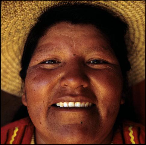 Woman of Lake Titicaca