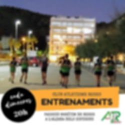 Entrenaments Cursa Badia de Roses - Club Atletisme Roses