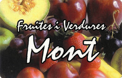 Fruites i verdures Mont