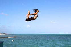 Flying Dhanurasana