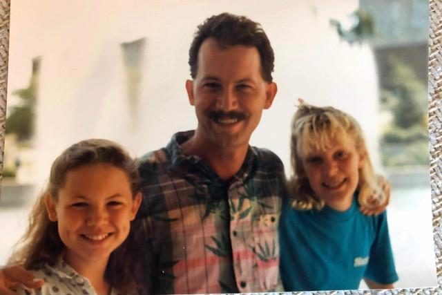 with Allegra Wermuth and Amy Dunbar, circa 1987