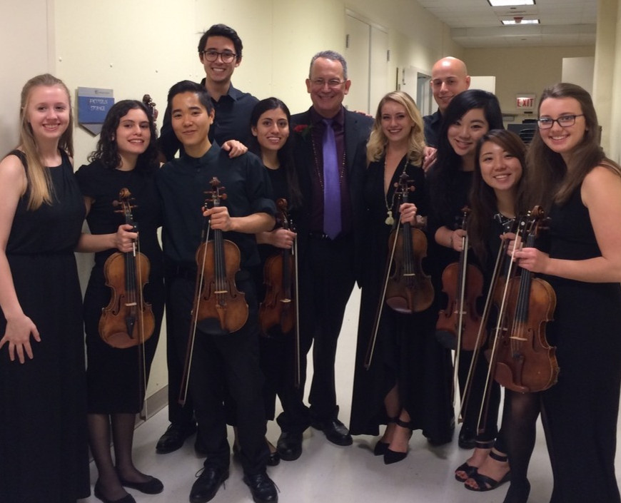 Tom with Alum, 30th Anniversary Concert