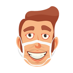 Masques personnalisés avec impression visage
