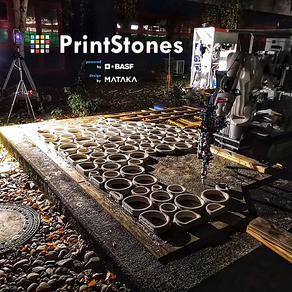 World's first additive manufactured paving block pavement