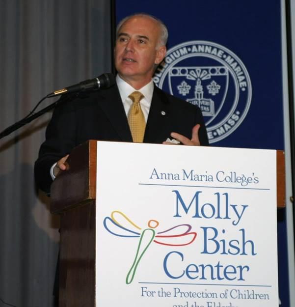 Tom Shamshak at Anna Maria College