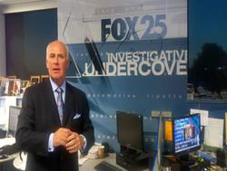 Tom Shamshak assisting Fox25