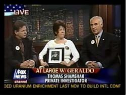 Tom Shamshak on Fox TV