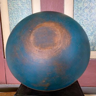 Blue Dough Bowl
