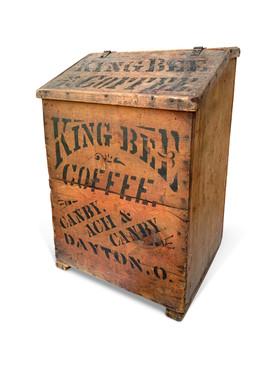 Country Store King Bee Coffee Bin