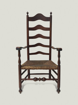 18thC Delaware Valley Chair