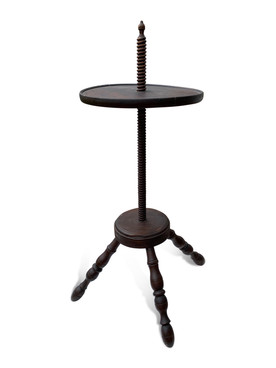 Early 19thC Adjustable Candlestand