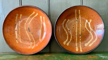 Pair of Willoughby Smith Plates