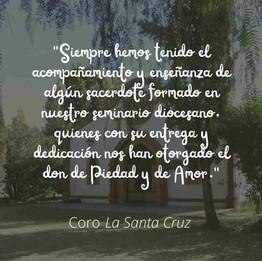 """Coro """"La Santa Cruz"""" - Gral. Alvear"""