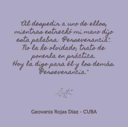 Geovanis Rojas Díaz - CUBA