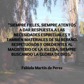 Fabiola Martín de Perez