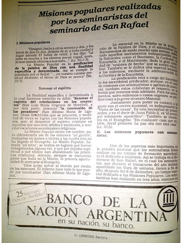 Revista Comunidad - Año 1987 - Diócesis