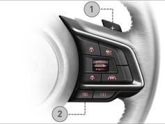 Cambio sul volante (1) SI-DRIVE (2)