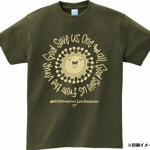 God save us T-shirts アーミーグリーン
