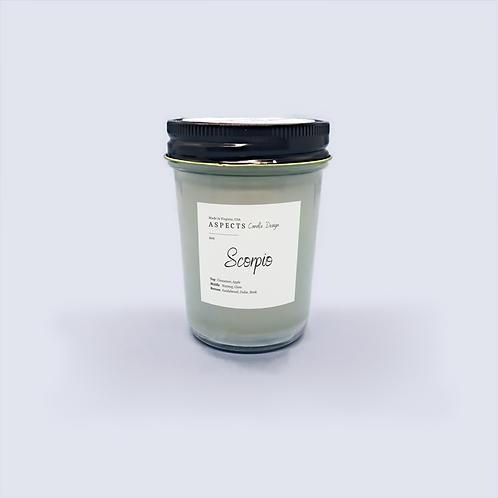 Scorpio 6oz Zodiac Jar Candle