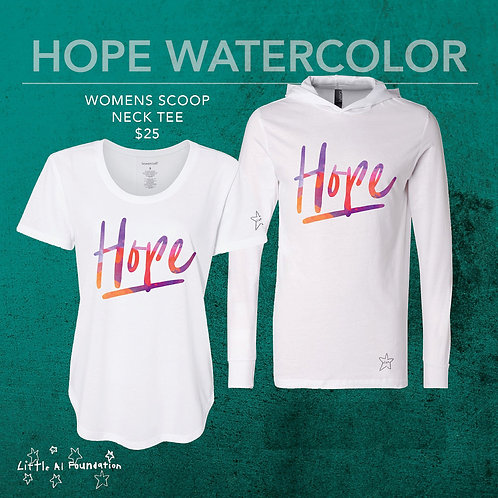 Hope - Scoop Neck Tee