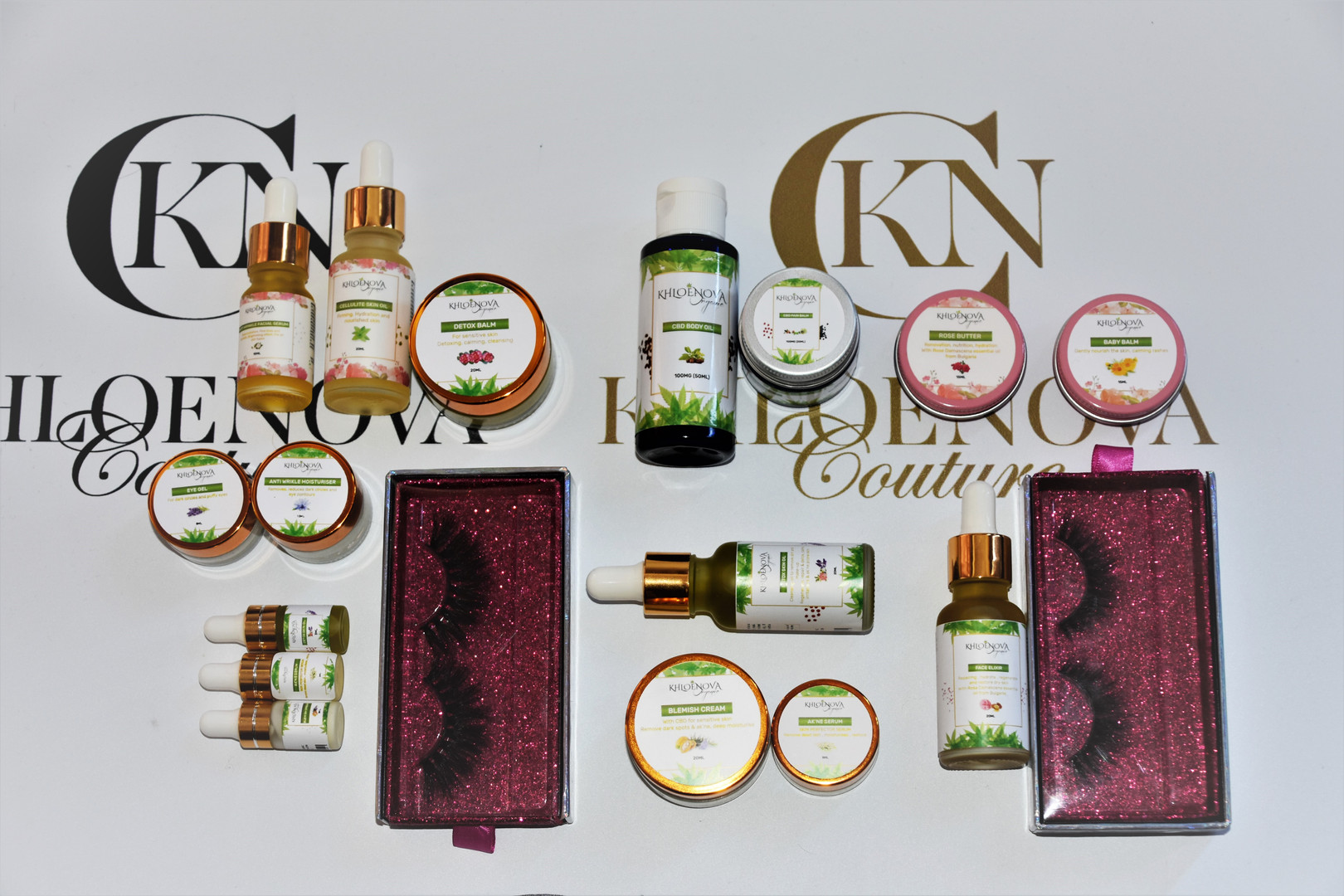 KHLOÉNOVA Beauty & Organic Skin Body Care Collections