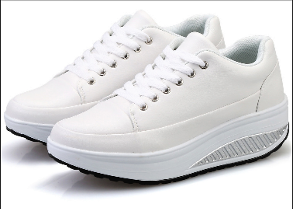 White Toning Trainers