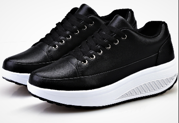 Black Toning Trainers