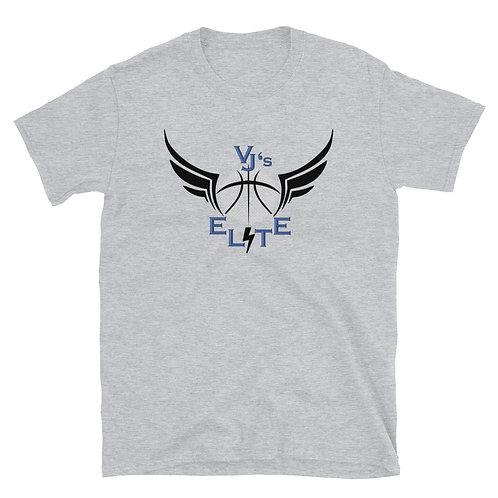 VJ's Elite Black Logo - Short-Sleeve Unisex T-Shirt