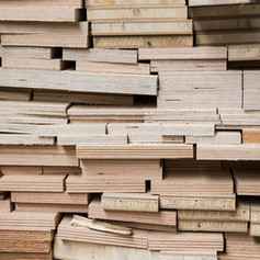 Holzsammlung