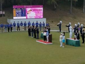小祝さくらプロ 「ヤマハレディースオープン葛城」で大健闘の5位フィニュッシュ!
