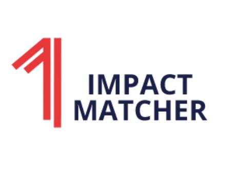 Impact Matcher online launch event - August 25 2021, 14:30-15:30 CEST