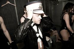 Wil backstage