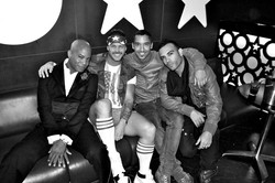 Travis Payne, Wil, Jerry & Leo in UK
