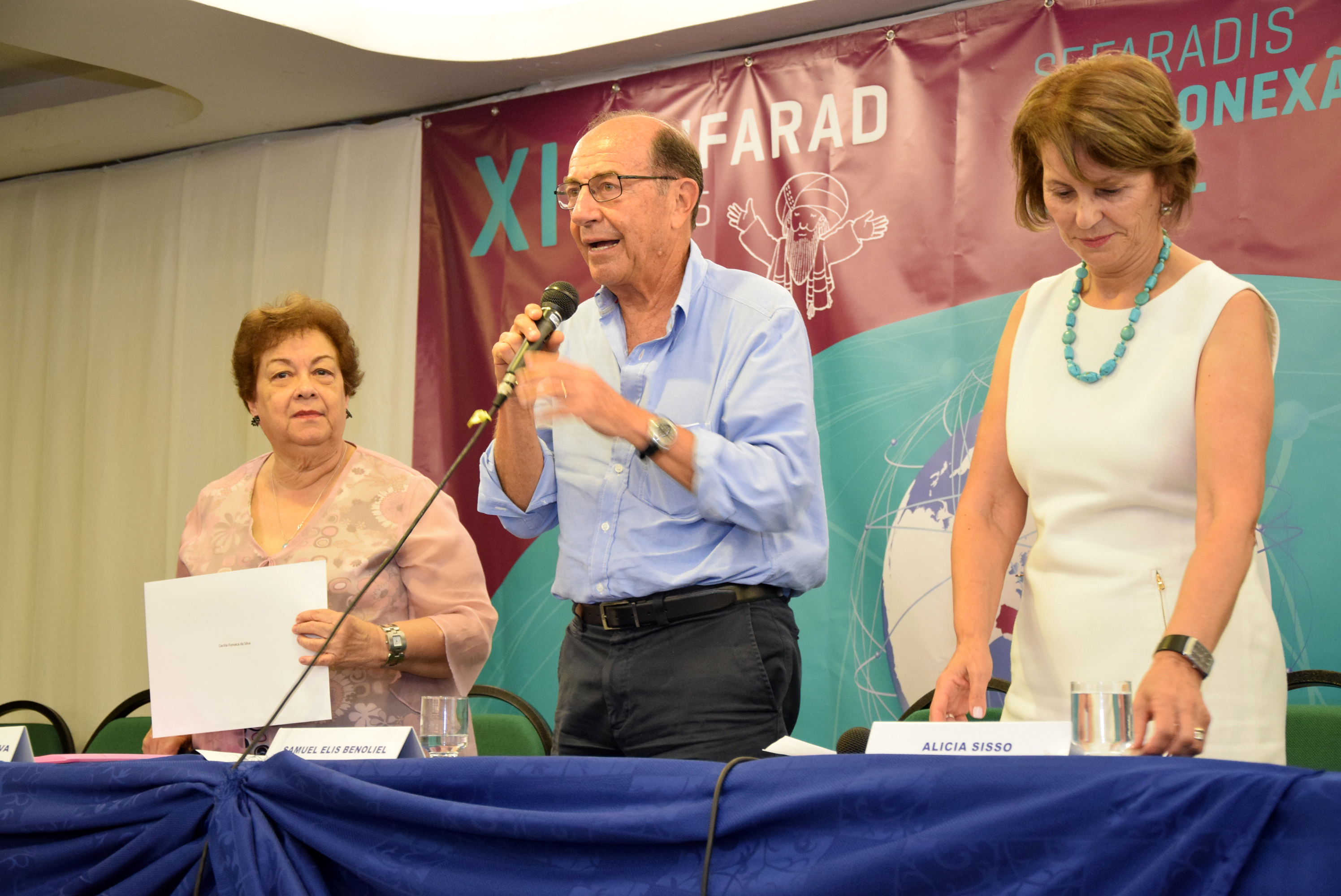 Palestra sobre Ladino