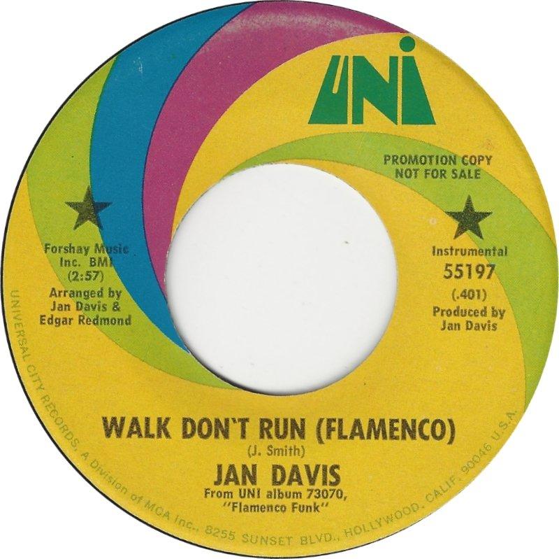 jan-davis-walk-dont-run-flamenco-1970