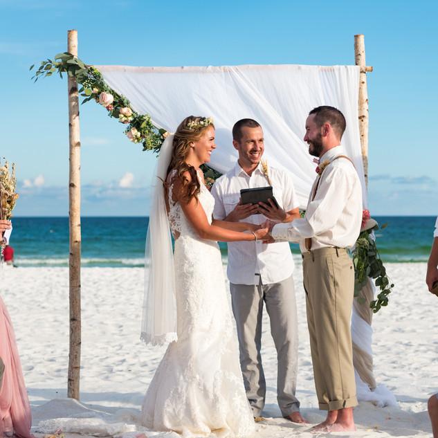 Navarre Beach Wedding Package