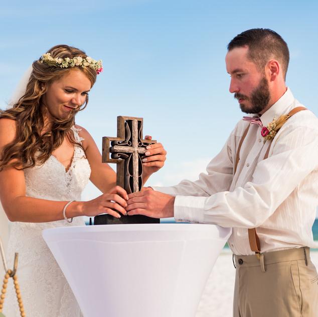 Navarre Beach Wedding Package Sand Ceremony