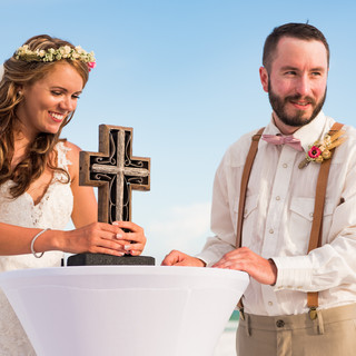 Navarre Beach Wedding Package and Sand Ceremony